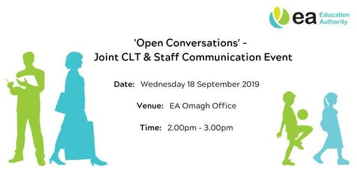 Open Conversations - Joint CLT & Staff Event - Omagh