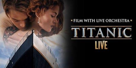 Titanic Live Event Parking tickets