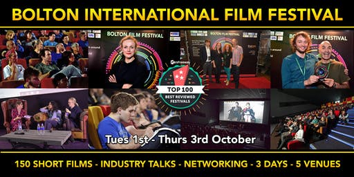 Bolton Film Festival (One Day Pass) - Oct 2nd