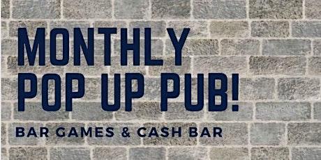 Pop up pub 7:30pm tickets