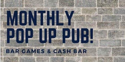 Pop up pub 7:30pm