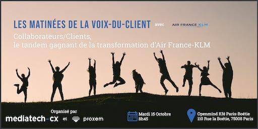 Les Matinées de la Voix-du-Client - Air France KLM