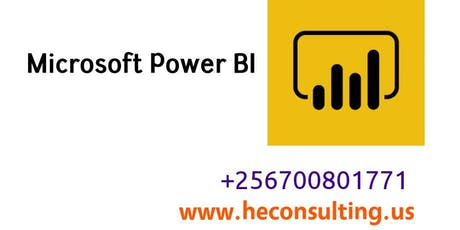 Microsoft Power Bi Training - Uganda | Microsoft BI Courses Kampala, Uganda tickets