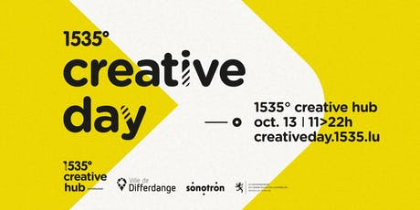 1535° Creative Day tickets