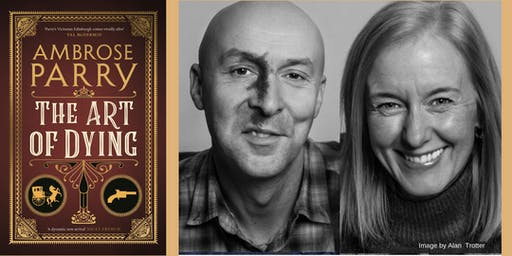 Meet the author -  Ambrose Parry (AKA Chris Brookmyre and Marisa Haetzman)