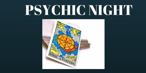28-11-19 Psychic Night with Tracy Fance & Friends - New Romney