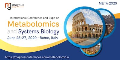 International Conference and Expo on Metabolomics and Systems Biology