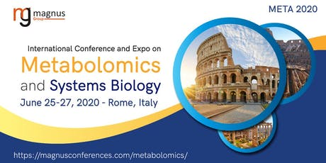 International Conference and Expo on Metabolomics and Systems Biology biglietti