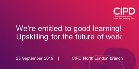 We're entitled to good learning! Upskilling for the future of work tickets