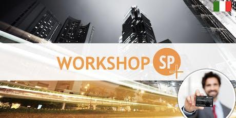 Workshop SP+ biglietti