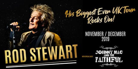 Rod Stewart Event Parking tickets