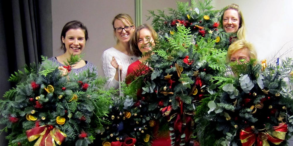 Christmas Greenery.Christmas Greenery Workshop