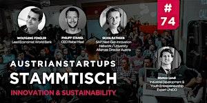 AustrianStartups Stammtisch #74: Innovation &...
