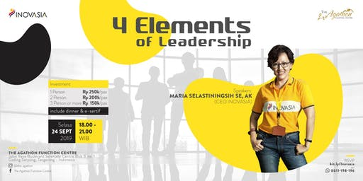 4 Elements of Leadership Training