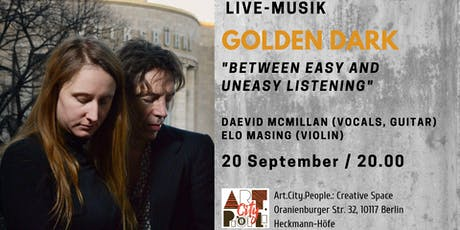"Live music ""Golden Dark"" / Vocals, guitar, violin Tickets"
