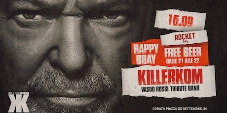 Killerkom @Rocket | Vasco Rossi Tribute Band biglietti