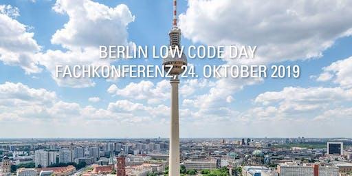 IT-Projekte günstiger und schneller realisieren BERLIN LOW CODE DAY