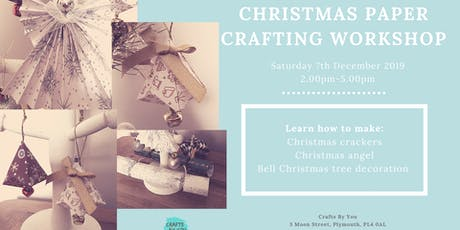 Christmas Paper Crafting Workshop tickets