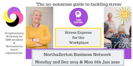Stress Busting with NBN (2) tickets