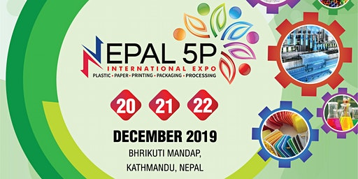 NEPAL 5P - (Plastics, Paper, Printing, Packaging, processing Expo)