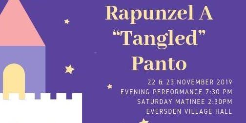 "Pantomime: Rapunzel A ""Tangled"" Panto 22 November 7:30pm"