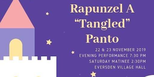 "Pantomime: Rapunzel A ""Tangled"" Panto 23 November 7:30pm"