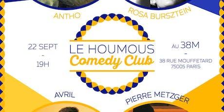 Le Houmous Comedy Club - La 1ere !  billets