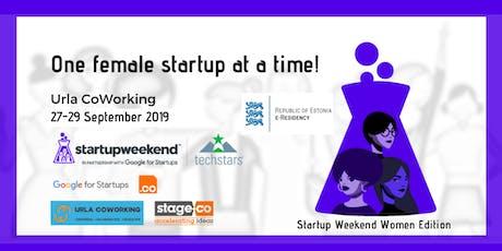 Techstars Startup Weekend WOMEN, Urla, Izmir tickets