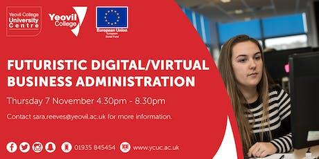 Futuristic Digital Business Administration: Workshop  tickets