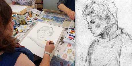 """""""Drawing People: Clothed Figure & Portraits"""", with Sheila Chapman Art tickets"""