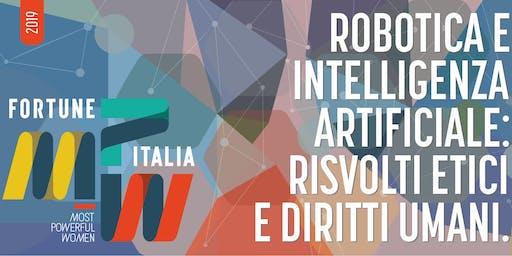 Robotica e intelligenza artificiale: risvolti etici e diritti umani