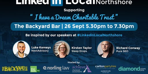 LinkedIn Local Northshore Being in Business - Growth Series