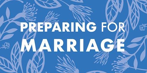 Preparing for Marriage   November 7, 2020