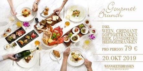 Gourmet Brunch am Wannsee Tickets