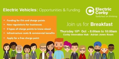 Electric Vehicles: Opportunities and funding for Corby Businesses tickets
