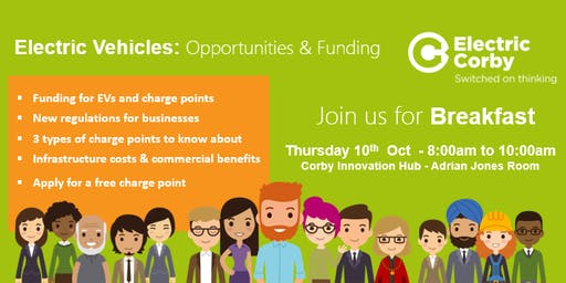 Electric Vehicles: Opportunities and funding for Corby Businesses