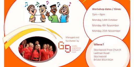 Stockwood Community Gospel Choir Workshop