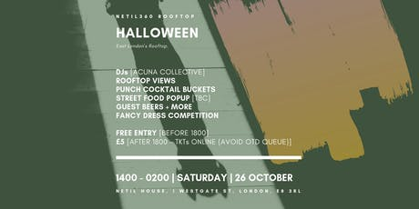 Net360's Halloween 2019 [1400 - 0200 | Saturday | 26 October] tickets