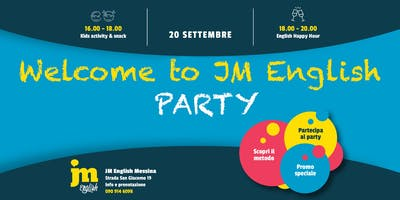 Welcome to JM English PARTY - Messina