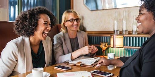 Networking at The Circle Café