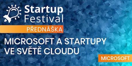 Microsoft a startupy ve světě cloudu tickets