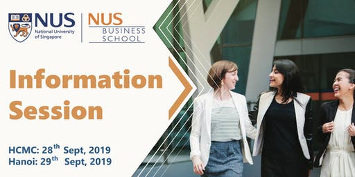 Information Session Duy Nhất Trong Năm Từ Đại Học Quốc Gia Singapore NUS