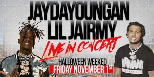 JAYDAYOUNGAN X LIL JAIRMY LIVE IN HOUSTON | FRIDAY NOV 1ST 9PM