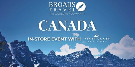 Canada - Meet The Expert In-Store Event tickets