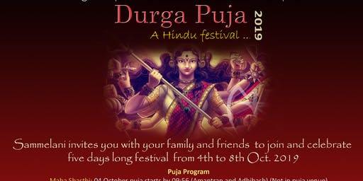 Durga Puja 2019 celebration in Brussels