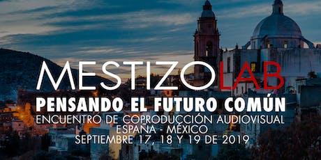 """Conferencia """"La industria audiovisual vista por las instituciones"""" entradas"""
