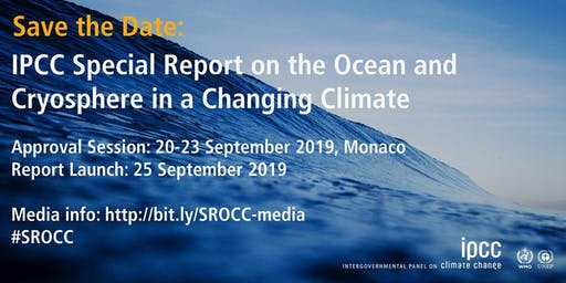 Live-Schaltung zur Präsentation des IPCC-Sonderberichtes Ozeane