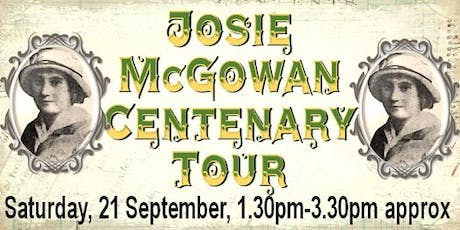 Josie McGowan Centenary Tour tickets