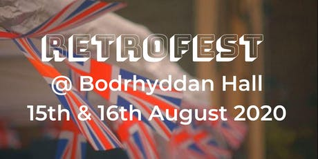 RetroFest Bodrhyddan Hall tickets