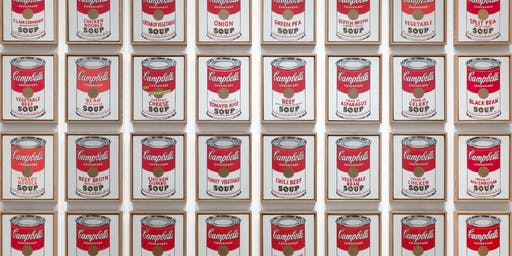NIGHT OUT with an ARTIST (21 and older): Andy Warhol